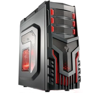 Gabinete Gamer Cooler C/ LED GA124 Multilaser