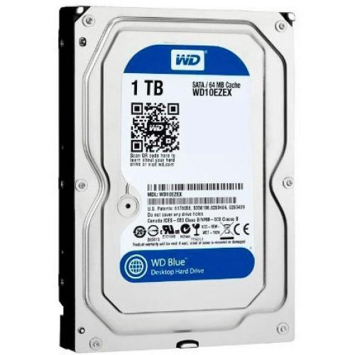 HD 1T Blue Western Digital Sata III