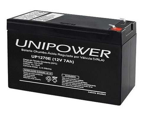 Bateria para Nobreak 12V 7A/E Unipower (UP1270E)