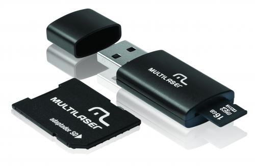 Kit 3 em 1 Multilaser  - 16GB - Classe 10 MC112