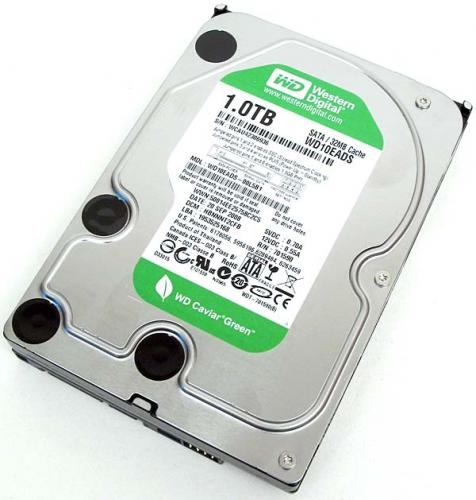 HD 1TB Sata III 7200 RPM 64MB  Western Digital OEM