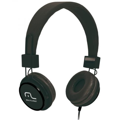 Fone Headset Preto PH115 Multilaser