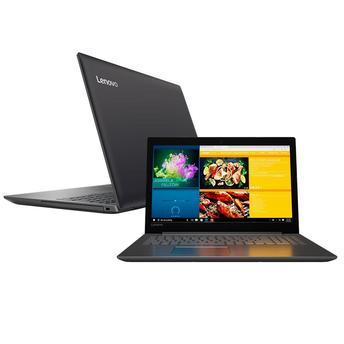 "Notebook Lenovo Ideapad 320-15IAP Celeron 4GB 500GB 15"" LED - Windows 10 - Preto"