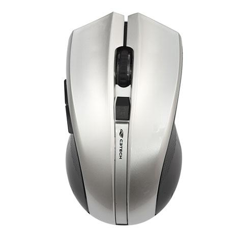 Mouse Wireless M-W108SI Cinza C3 Tech