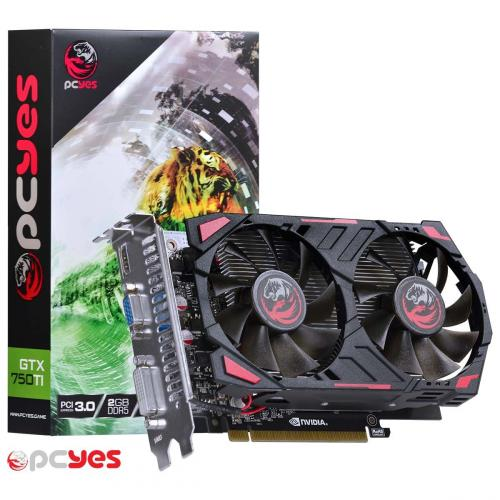 Placa de Vídeo 2GB DDR5 128 Bit GTX750 TI PCYes  28105
