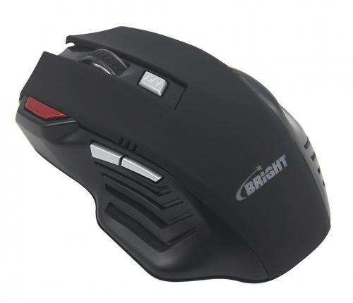Mouse Gamer Pro USB Preto 0465 Bright