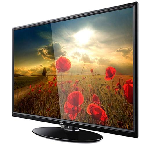 Monitor TV LED 24' AOC LE24M1475 Conversor Digital 2 HDMI 1 USB