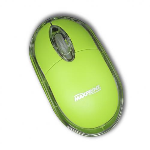 Mouse USB Color Verde - Maxprint