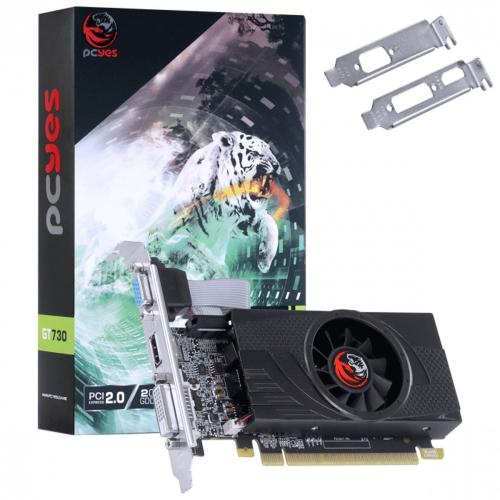Placa De Video Nvidia 2GB DDR5 128 Bits GT730 - PCYes