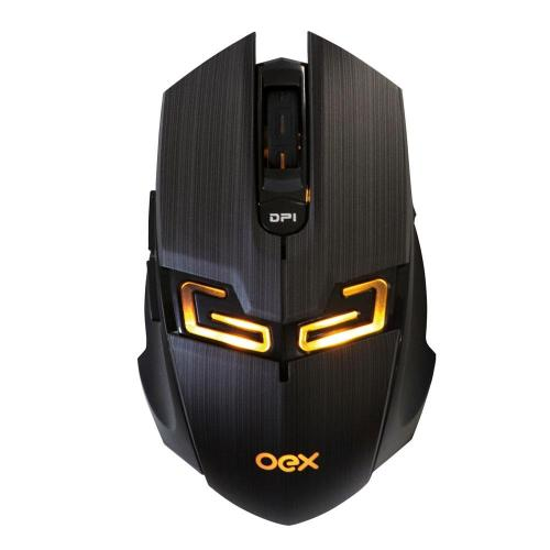 Mouse Gamer USB 4000DPI LED Killer MS312 Preto OEX