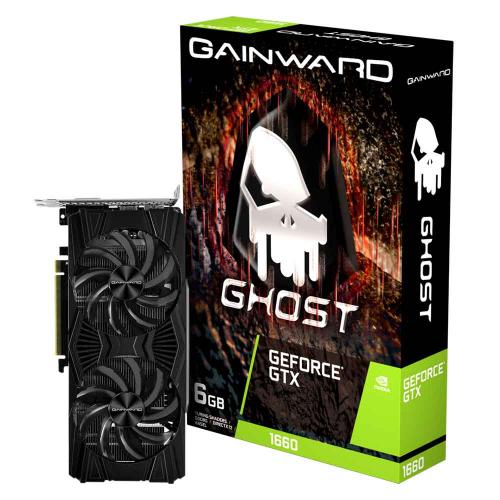 Placa de Video 6GB DDR5 192 Bits PCI-E 3.0 GTX1660 Ghost Gainward