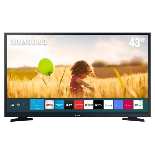 "Smart TV LED 43"" FHD 2 HDMI 1 USB Wi-Fi HDR Samsung"